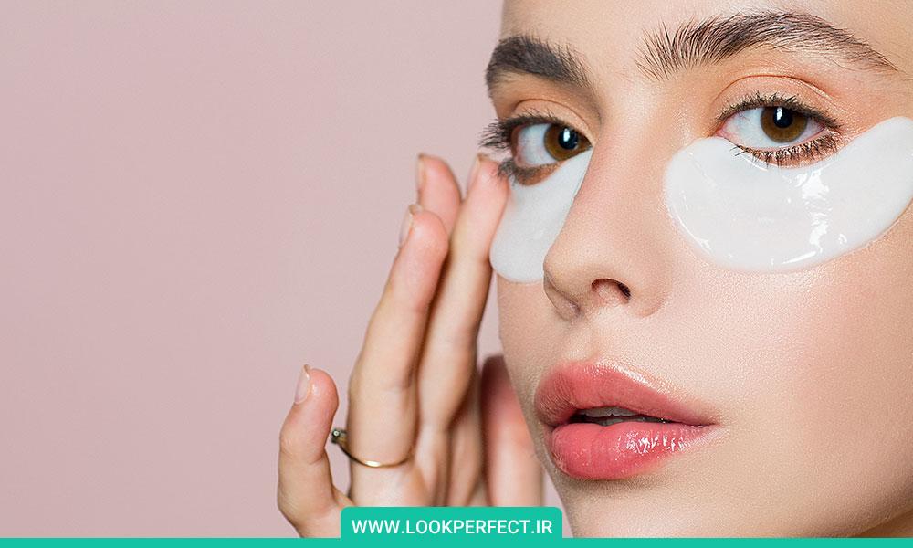 کرم دور چشم روتین شبانه مراقبت از پوست